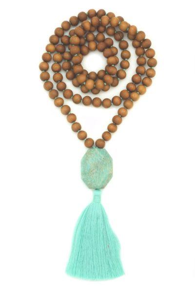 Amazonite Guru Ganesha Mala