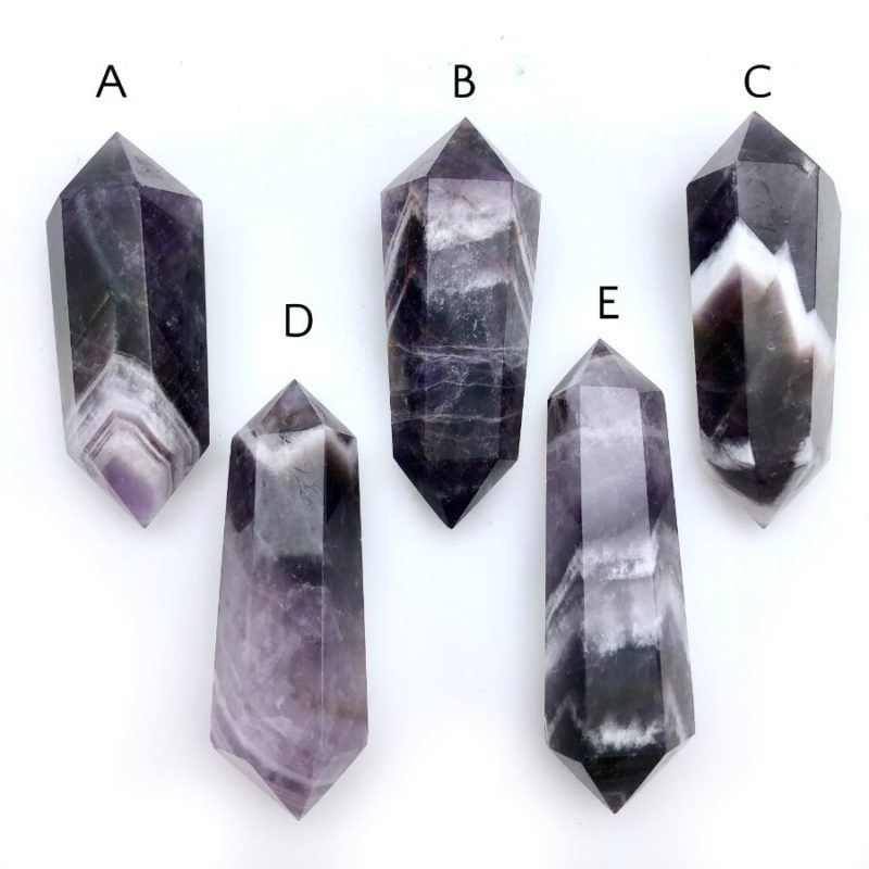 Dog Tooth Amethyst Points
