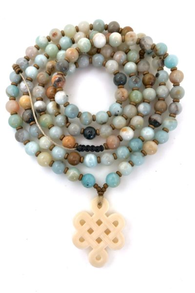 Mala Shop - Tibetan Knot Prayer Beads