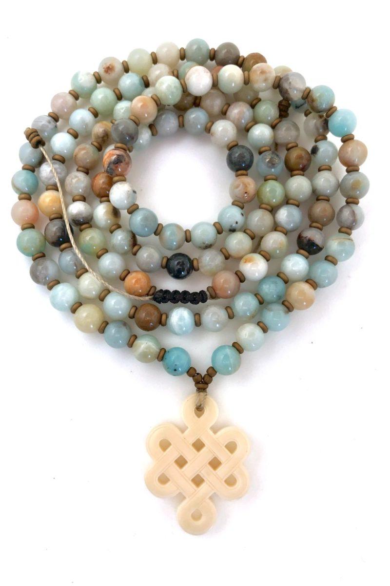Tibetan Knot Prayer Beads - Tibetan Knot Prayer Beads