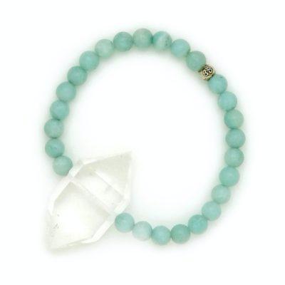 amazonite crystal bracelet