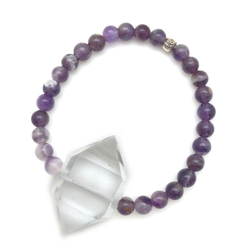 amethyst crystal bracelet