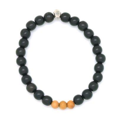 ebony jackfruit om bracelet