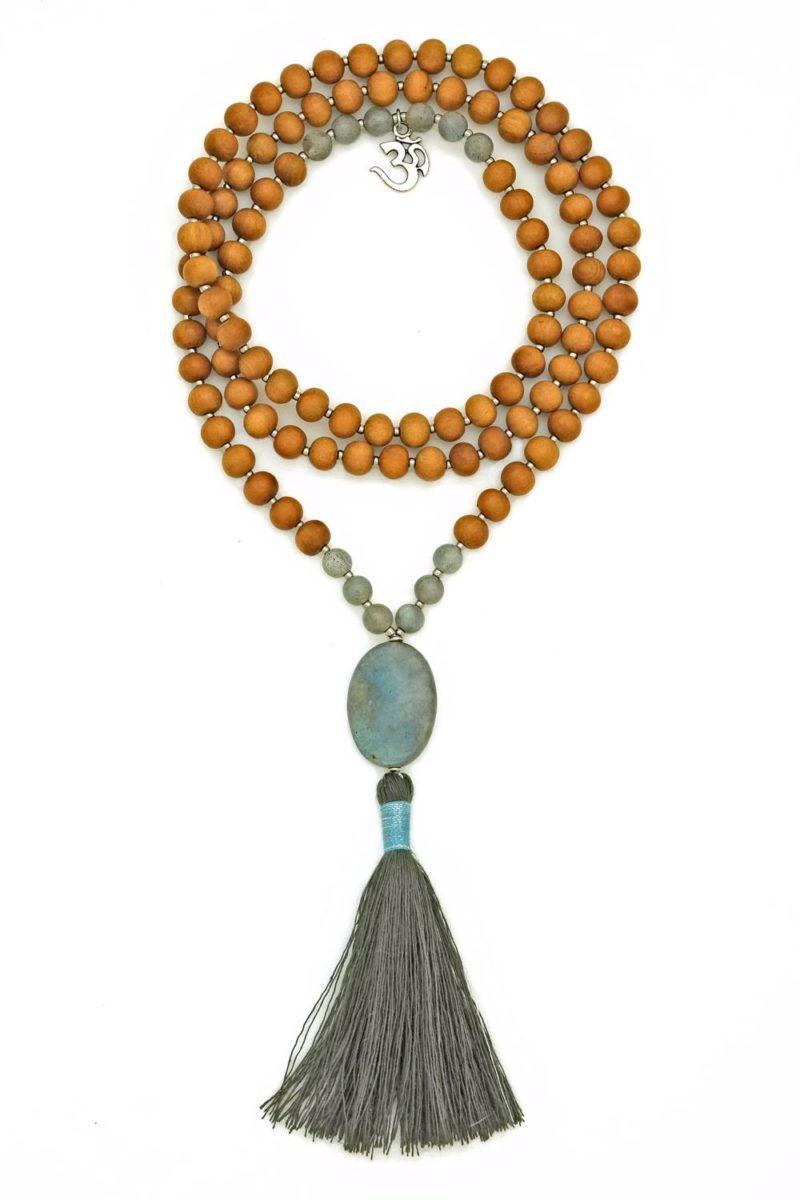 labradorite prayer beads