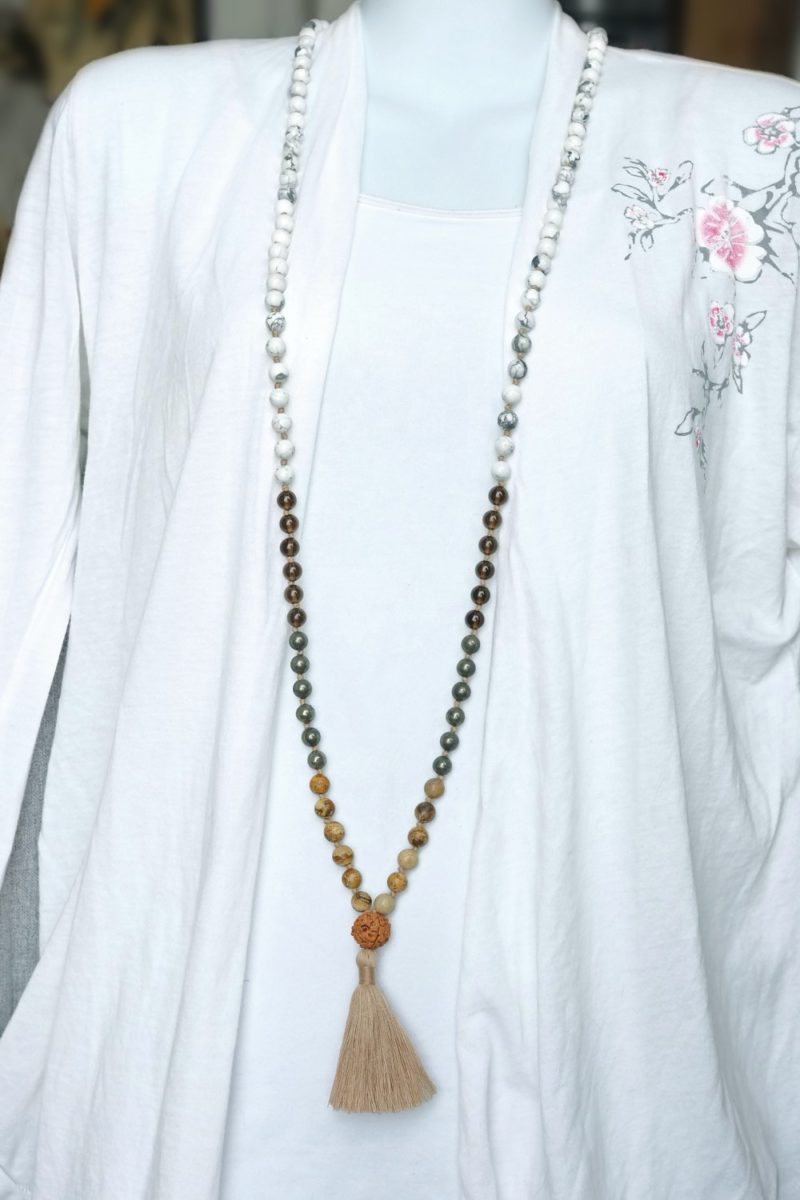 peace unity mala necklace