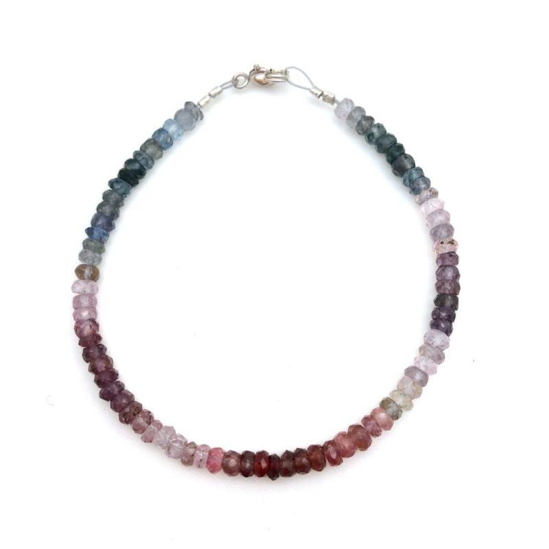Rainbow Spinel Bracelet - rainbow spinel bracelet