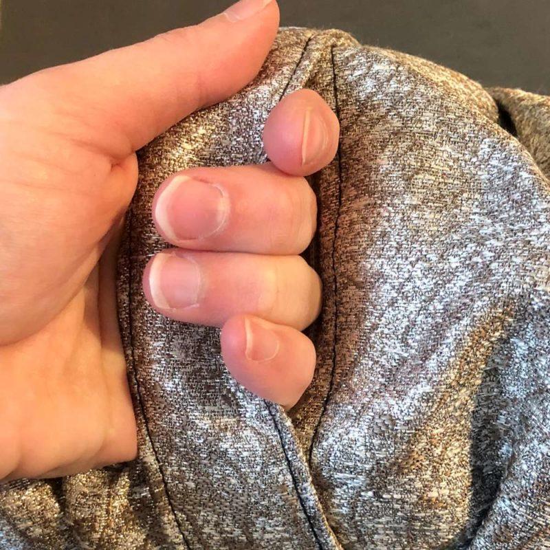 silver meditation cushion handle