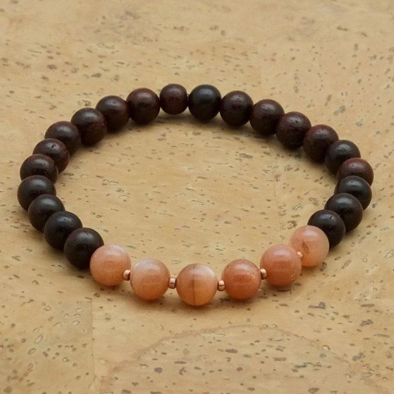 Gayatri Bracelet - sunstone bracelet