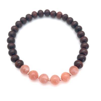 sunstone gayatri bracelet