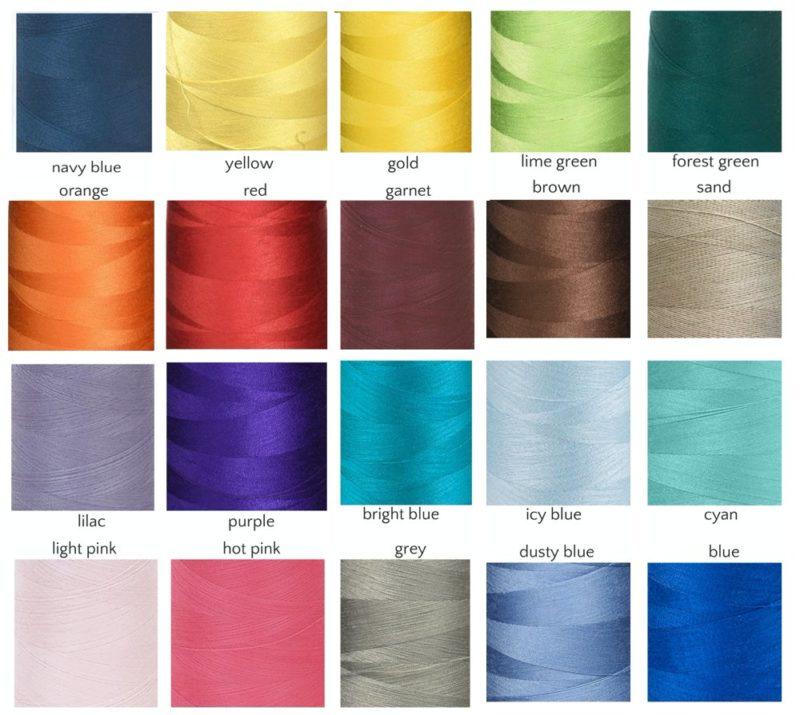 Unbound Tassel Mala - tassel thread colors