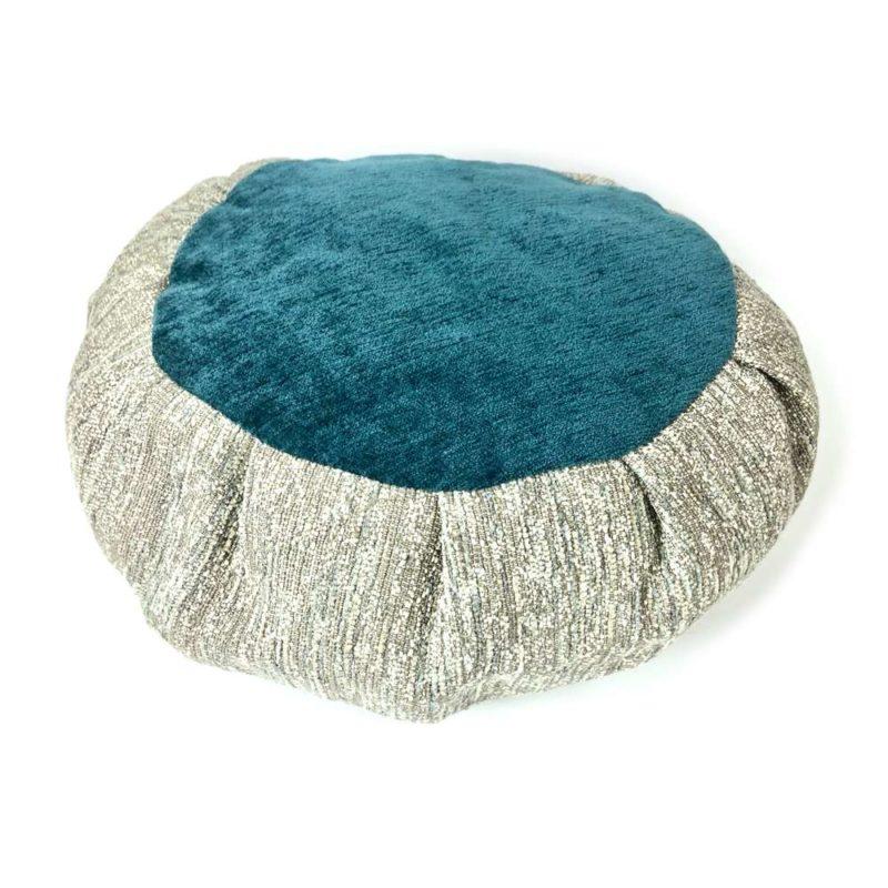 teal meditation cushion