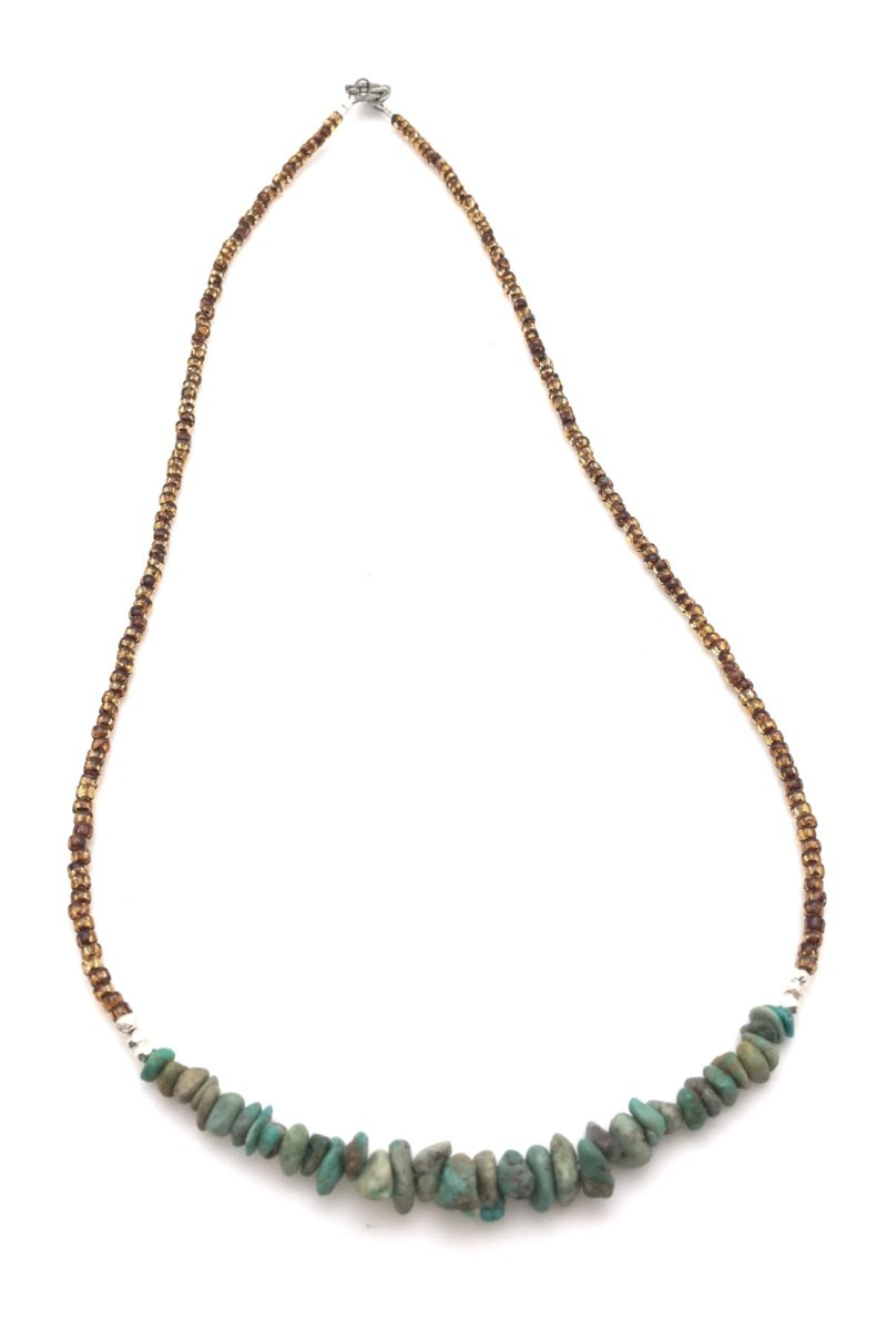 turquoise primal necklace
